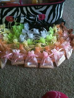 SprinklingPZ.com More wedding favors.  These could be used to scent drawers or the sprinkles can go in a candle or warmer you already have! #SprinklingPZ #PinkZebra
