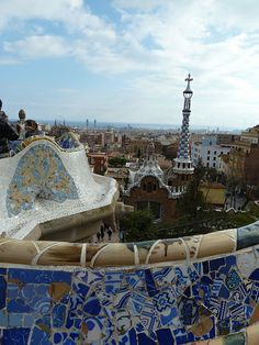 Parc Guell.   Excursions in Barcelona Excursions in Barcelona Vacations in Barcelona Sightseeing tours, airport transfers, taxi, interpreter and your personal guide in Bar