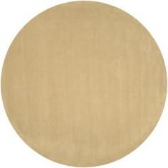 @Overstock - A cut/loop pile creates a soft look and touch on this hand-loomed wool rug. This area rug showcases rich light brown hues.  http://www.overstock.com/Home-Garden/Hand-loomed-Ridges-Cream-Wool-Rug-8-Round/5654273/product.html?CID=214117 $296.29