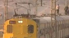 Παράτολμοι σέρφερ, τρένων στη Νότια Αφρική!