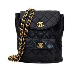 Chanel Mini Vintage Lambskin Backpack