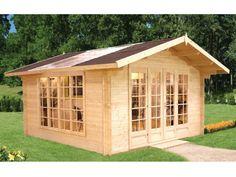 DIY Log Cabin Kit Winter