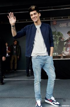 Zayn at the Germany signing