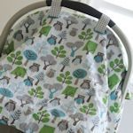 DIY car seat blanket tutorial - OMG will need to make one of these for everyone I know having a baby! LOVE this - especially since my baby days are over :) - Kiddos at HomeDIY car seat blanket tutorial *My mom did this for me when I had my son, it wa Baby Sewing Projects, Sewing For Kids, Sewing Ideas, Bebe Staff, Baby Set, Do It Yourself Baby, Stoff Design, Car Seat Blanket, Blanket Cover