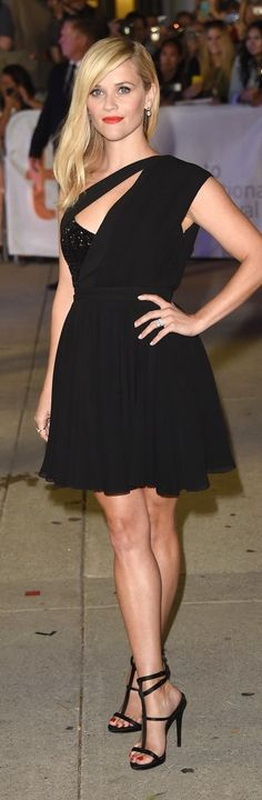 Reese Witherspoon In Saint Laurent – 'Wild' Toronto Film Festival Premiere