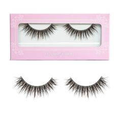 Our NEW Noir Fairy® Lite Brown false lashes brings the dimension and depth of the original Noir Fairy® lashes with a thinner band and more everyday wear look and feel! These falsies are multi layered and multi tiered that creates density without sacr