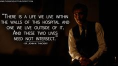 There is a life we live within the walls of this hospital and one we live outside of it. And these two lives need not intersect. The Knick, Clive Owen, Downtown New York, Medical History, Period Dramas, Second Life, First Love, The Outsiders, Tv Shows