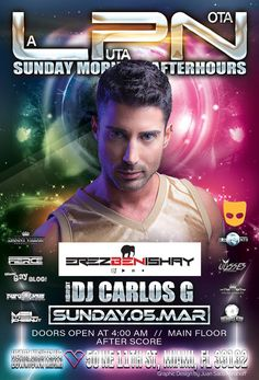 Saturday into Sunday March 5th!!! Following the tradition of the best of Miami Gay Night life!!! Danny Villar alongside Ely Lords & Miami Gay Blog, present LA PUTA NOTA AFTERHOURS. Music by international Guest DJ Producers EREZ BEN ISHAY & our ResidentDJ CARLOS G! HEART NIGHTCLUB – main floor. 50 NE11th st. Miami Downtown. Doors Open at 4am! AFTER SCORE!!