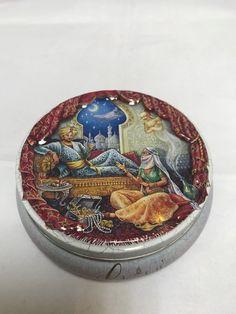 Vintage Churchill's of London Fruit sweet empty tin box embossed   eBay