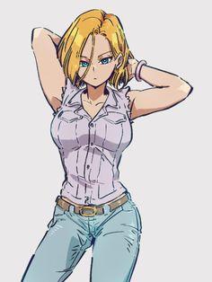 Akira, Character Art, Character Design, Anime Sensual, Android 18, Fanart, Chica Anime Manga, Dragon Ball Gt, Anime Comics