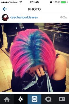 Dyed roots. OBSESSED!