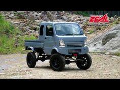 "(1) Kei Truck + SUZUKI JIMNY = ""Agetra"" is Japanese style.PRO STAFF アゲトラ - YouTube"