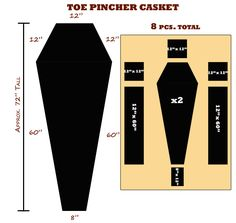 bookcase coffin plans