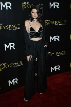 July 14, 2016 - Launch of OUE Skyspace LA. Kendall Nicole Jenner Fashion Style