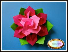 Origami Maniacs: Beautiful Origami Flower
