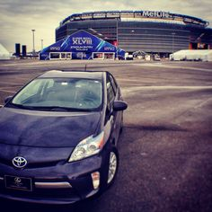 Pre-Gaming for the Super Bowl - Toyota Prius PlugIn Toyota Prius, Super Bowl, Gaming, Vehicles, Car, Video Games, Automobile, Supper Bowl, Rolling Stock