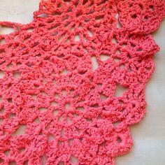 Crochet Ideas: An idea for a summer crochet scarf