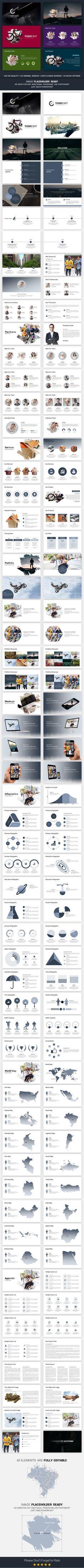 annual agm - multipurpose powerpoint template #design #slides, Agm Presentation Template, Presentation templates