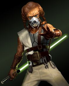 Tarast Voon (Prior to the formation of the Galactic Empire and the fall of the Jedi, Tarast Voon attempted to join the Jedi Order. However, they declined due to him being too old for training)