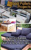 Wood Pallets Projects: 20 Beautiful Furniture Items Made Of Old Wood Pallets For Home And Garden: (Household Hacks, DIY Projects, DIY Crafts,Wood Pallet ... recycled crafts, recycle reuse renew) - http://howtomakeastorageshed.com/articles/wood-pallets-projects-20-beautiful-furniture-items-made-of-old-wood-pallets-for-home-and-garden-household-hacks-diy-projects-diy-craftswood-pallet-recycled-crafts-recycle-reuse-renew/