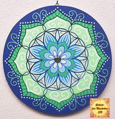 Mandala Blue and Green