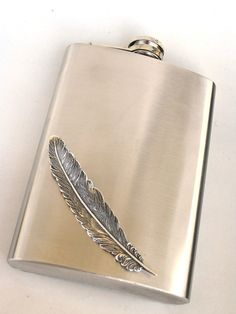 feather flask