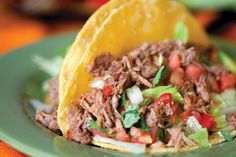 Slow Cooked Beef Tacos Recipe