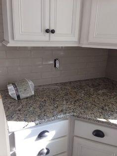 Santa Cecilia granite...need backsplash ideas please