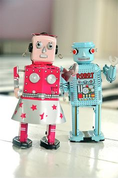 Mr and Mrs Robot.