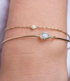 Delicate bracelet stacking #loveaudryrose