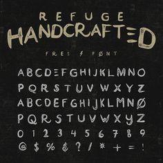 """""""Refuge-(Free Font)"""