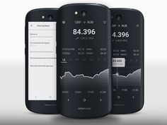 Exchanged rate's widget for YotaPhone 2
