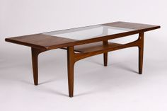 Reserved For J -- Danish Modern Coffee Table / Mid Century Rectangular Teak…