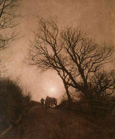 "Frank Meadow Sutcliffe (English, 1853-1941), ""November"" (ca. 1890) Carbon Print"