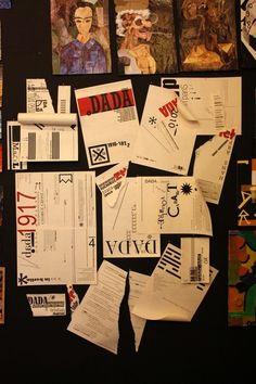 DADA -an issue about dadaism- on Behance Dada Art, A Decade, Conceptual Art, Installation Art, Modern Art, Abstract, Tokyo, Berlin, Behance