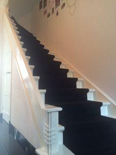 Jaren dertig trap met modern tintje.