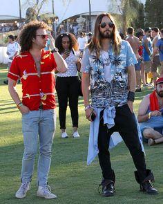 Stars Descend Upon Coachella Valley For Music Festival Fun: Let the festival begin!
