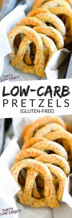 Low Carb Recipes | Low Carb Pretzels | Pretzel Recipe | Homemade Pretzels | Healthy Recipes | Recipes ~ https://www.thatslowcarb.com