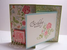 stamp it with Jen: Birthday Joy Fold
