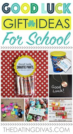 Good Luck Gift Ideas for Students - Perfect for end of year tests!