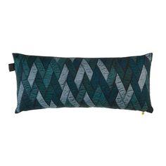 KAAT Amsterdam sierkussen Chad (30x70 cm) | wehkamp Textiles, Amsterdam, Decorative Pillows, Bed Pillows, Charlotte, Prints, Blue, Products, Fashion