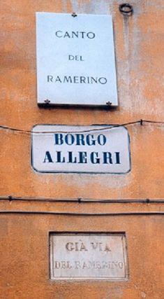 FlorenceCity – Rivista Fiorentina - Targhe del già. Florence City