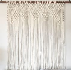 Large macrame wall hanging. Wedding backdrop. New home. Gifts.