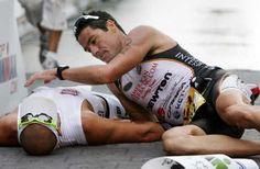 Chris Lieto and Craig Alexander #triathlon #ironman