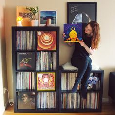 Record Collection, My Collection, Lps, Home Music, Vinyl Room, Vinyl Record Storage, Record Art, Audio Room, Vinyl Junkies
