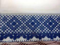 Resultado de imagen para bordados em tecido xadrez