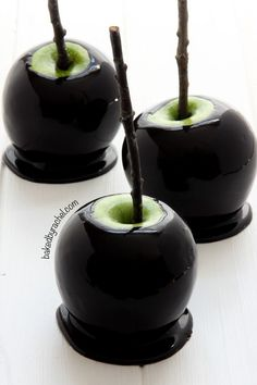 get a spooky touch with black food color -- the perfect Halloween ...