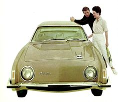 Studebaker Avanti 1963, designed by Raymond Loewy.  #OttoSteininger