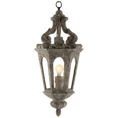1-Light Foyer Pendant