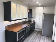 Tiny home - shipping container home kitchen